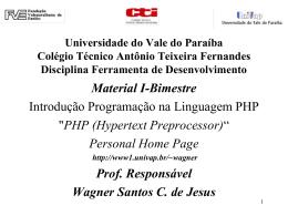 PHP - Univap