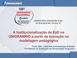Lúcia Inês Kronemberger de Andrade - Unigranrio
