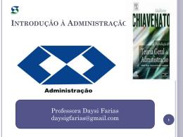 introdução à administração - Universidade Castelo Branco