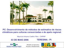 zoneamento-r-teresina - Projetos e Redes do Macroprograma 1
