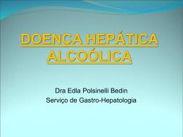 DOENÇA HEPÁTICA ALCOÓLICA