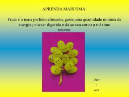 Fruta – Perfeito Alimento