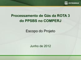 Projeto PETROBRAS Rota 3 JUN2012