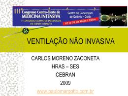 VENTILAÇÃO NÃO INVASIVA - Paulo Roberto Margotto