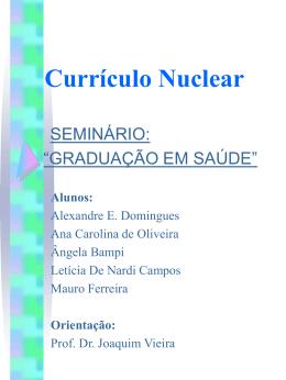 Currículo Nuclear