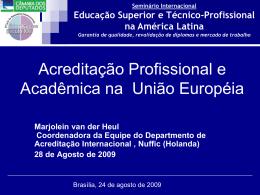 Educação Superior e Técnico-Profissional na América Latina