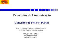 Modulação em Freqüência (FM)