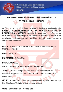 Divulgacao do Evento