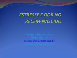 Estresse e Dor Neonatal - Paulo Roberto Margotto