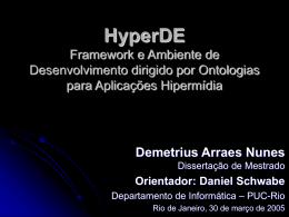HyperDE - TecWeb - PUC-Rio