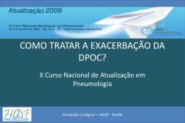 Tratamento da Exacerbação da DPOC