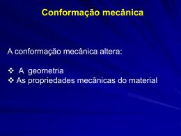 CMM02 - Estrutura e Propriedades dos Materiais