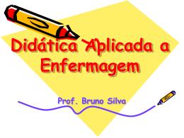 didática aplicada à enfermagem - Universidade Castelo Branco