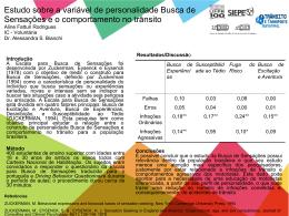 Estudo sobre a variável de personalidade Busca de