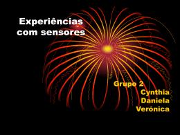Experiências com sensores