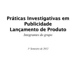 Projeto Experimental em Publicidade II