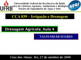 Drenagem_Tales_UFRB_aula4