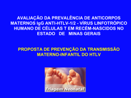 HTLV_Transmissão/ Dra. Anna Proietti
