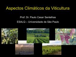 Aspectos Climáticos da Viticultura