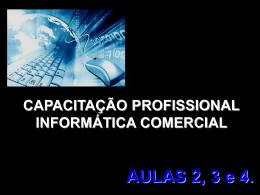 INFORMATICA COMERCIAL - AULA 02-03