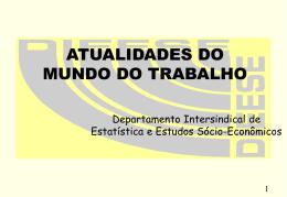 BALANÇO DAS NEGOCIAÇÕES SALARIAIS DE 2000
