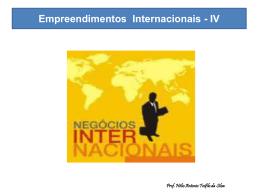 Empreendimentos Internacionais