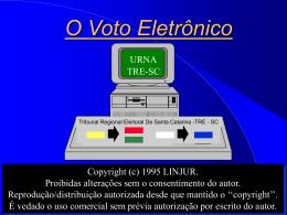 O Voto Eletrônico