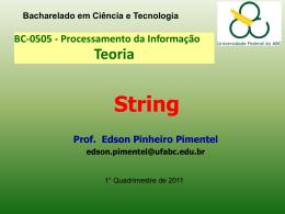 Strings em Java