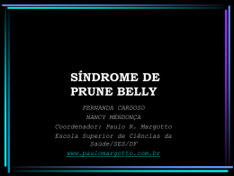 Síndrome de Prune Belly - PPT