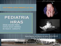 Caso Clínico: Asfixia perinatal