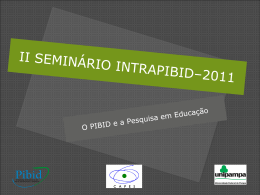 Slide II IntraPIBID