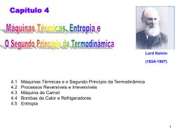 Segundo princípio da termodinâmica