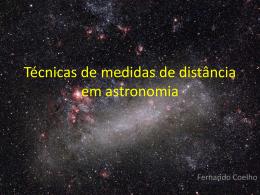 Técnicas de medidas de distância em astronomia