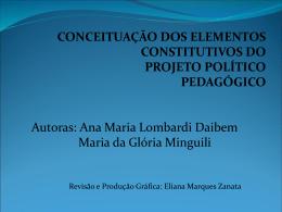 Projeto Pedagógico CEM
