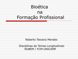 Bioética na Formação Profissional