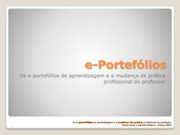 e-portfólios - e