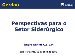 Ágora Senior - Abril