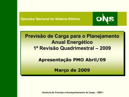 Apresentação do Anual 2003-2004