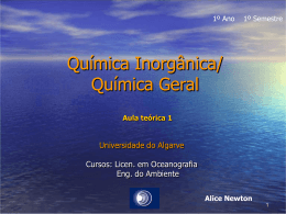 Oceanography - Universidade do Algarve