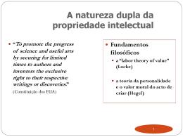 Apresentação do PowerPoint - Faculdade de Direito da UNL