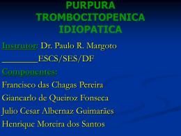 PURPURA TROMBOCITOPENICA IDIOPATICA (slide)