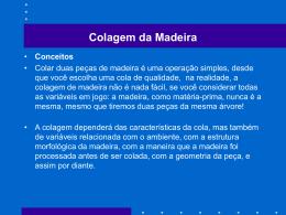 Colagem da Madeira