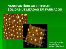 nanopartículas lipídicas sólidas utilizadas em fármacos