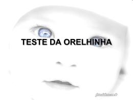 teste da orelhinha introdução