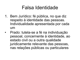 Falsa Identidade