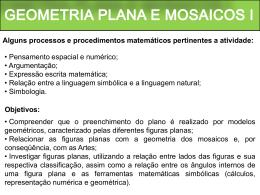 Geometria plana e mosaicos l
