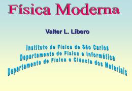 Física Moderna I - Universidade de São Paulo
