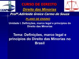 CEAP / CURSO DE DIREITO