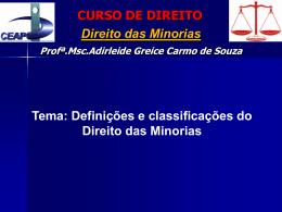 Minorias