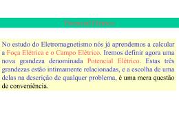 Aula 4 – Potencial Elétrico